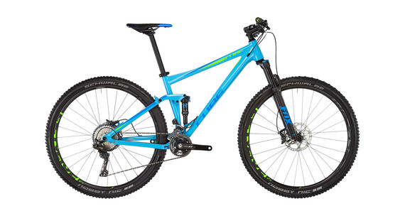 Cube Stereo 120 Race Blue'n'Green